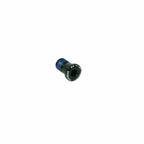 Sujetador Trek perno M10X1 aleación Negro