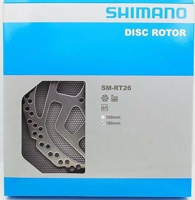 SHIMANO ROTOR DISCO RT26M 180MM 6 TORNILLOS