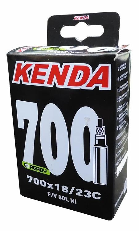 CAMARA KENDA  700X18-23F/V 80L NI
