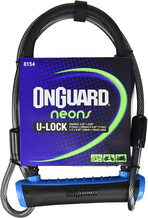 Candado Onguard u lock 8154