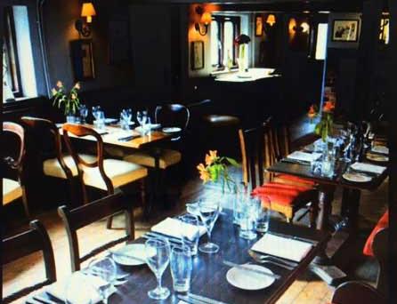 White Lion Interior – The Restaurant
