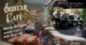 Le Sidecar Café sera au marché de Pâques de Sion.