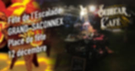 Le Sidecar Café sera à la fête de l'Escalade du Grand-Saconnex