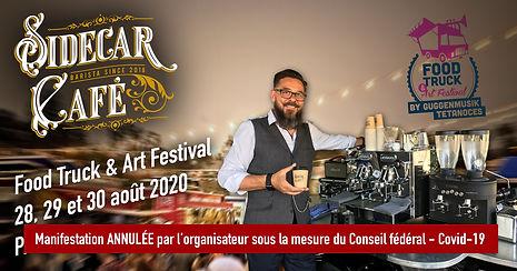 Le Sidecar Café servira de délicieux cafés de spécialité au Food Truck & Art Festival à Payerne