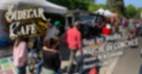Le Sidecar Café est présent tous les jeudis au marché de Conches
