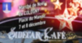 Le Sidecar Café se poste au marché de Noël de Cologny