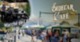 Le Sidecar Café se tiendra au marché de l'Ascension du Bouveret.