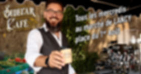 Le Sidecar Café est présent tous les mercredis au marché de Lancy (place du 1er Août)