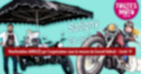Le Sidecar Café ne pourra pas être à la manifestation Toutes en Moto car elle a été annulée COVID19
