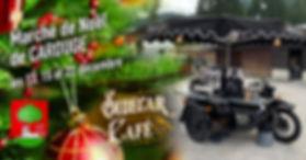 Le Sidecar Café sera au marché de Noël de Carouge.