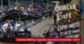 CoronaVirus - Le Sidecar Café sera à l'Expo-Moto de Martigny.