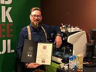 Sidecar Café, Sébastien Grossrieder, certificat barista EBS