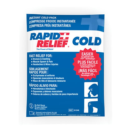 Rapid Relief Cold Packs