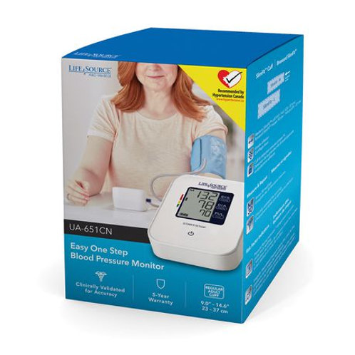 Life Source Easy One Step Blood Pressure Monitor