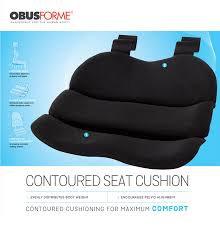Obusforme- Contoured Seat Cushion