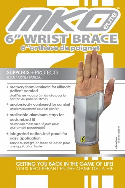 """MKO 6""""Wrist Brace"""