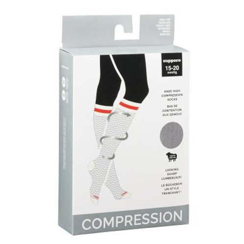 Thermal Merino Wool Compression Socks 15-20 mmHG