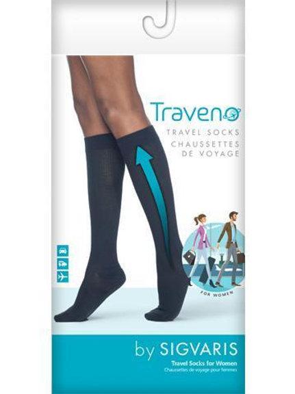 Sigvaris Traveno Travel Compression Socks-Women