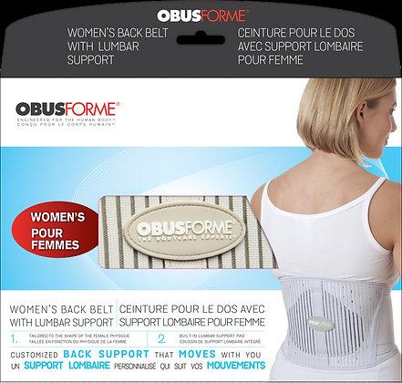 Obusforme Backbelt-Women