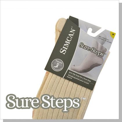 Sure Step Ankle Grip Socks