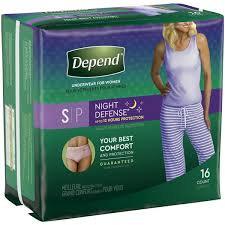 Depends- Night Defense
