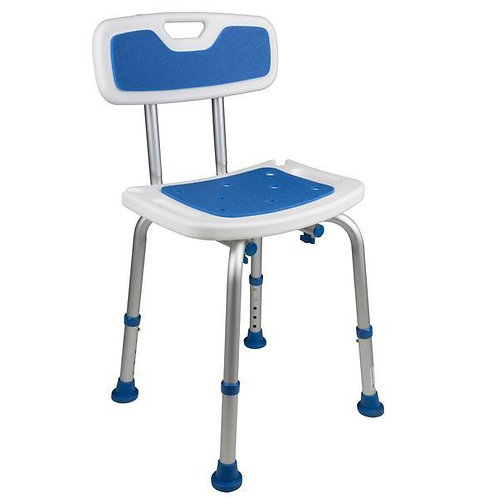 Padded Bath Seat with Backrest- 7103