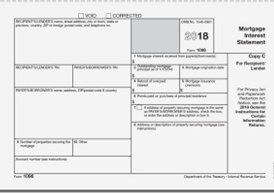 2018 Blank Form 1098 Mortgage Interest.p