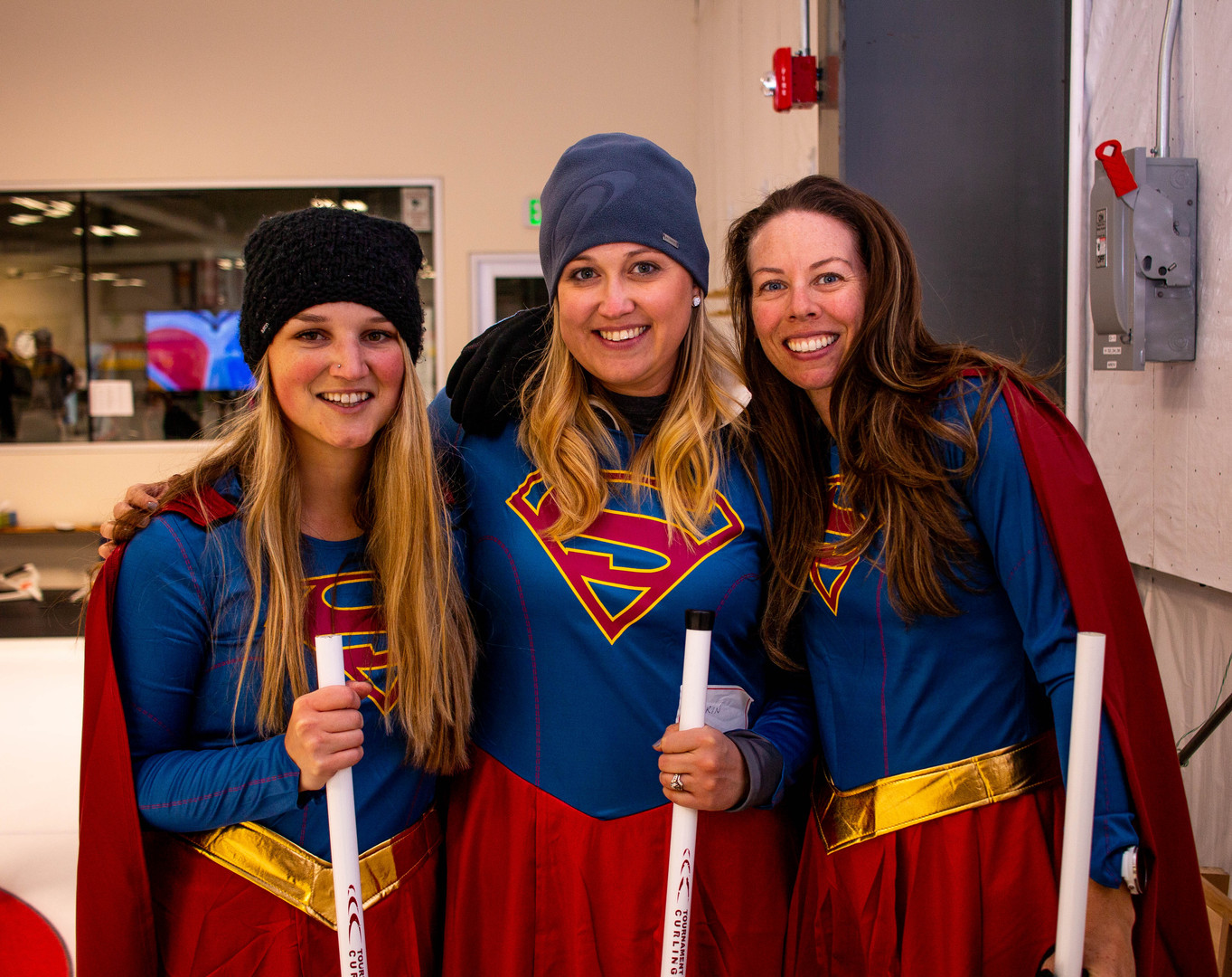 Curling Tournament In Costumes