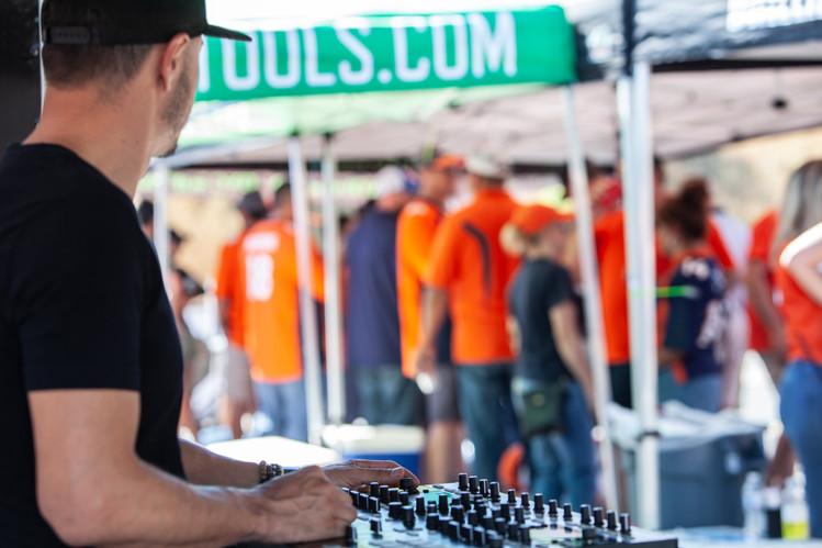 Bronco Tailgte DJ Manos