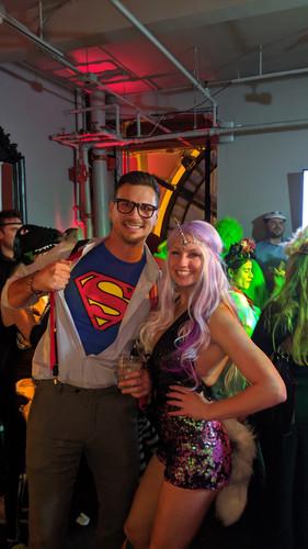 Halloweena Wine Mixer Oil Connect Events