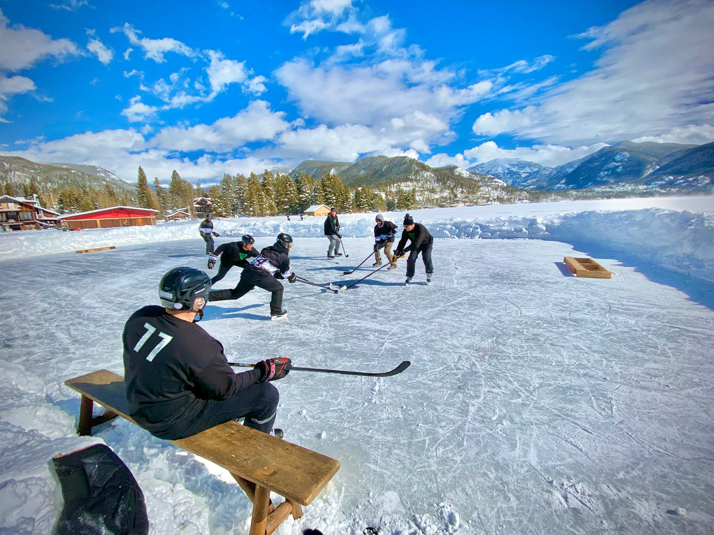 Oil Connect Pond Hockey