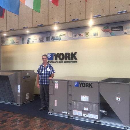 Me at The York factory. At Bear Creek we go the extra mile for Quality Assurance.