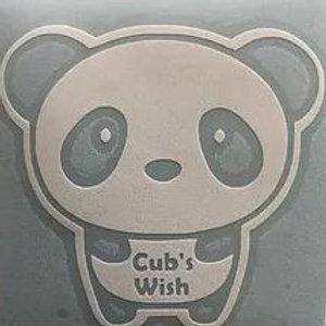 Decal B - Cub in Cub's Wish T-shirt