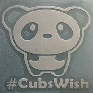 Decal E - #CubsWish