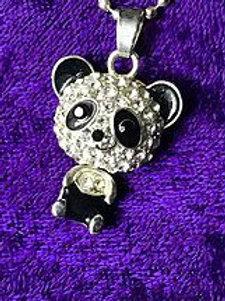 Panda Bobblehead Necklace