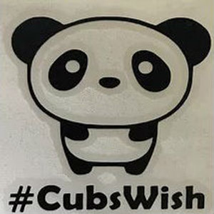 Decal D - 2.5 in. #CubsWish