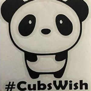 Decal C - 3 in. #CubsWish