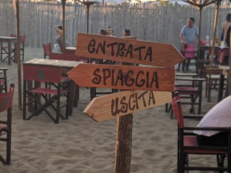 Best Beach Bars Around Rome