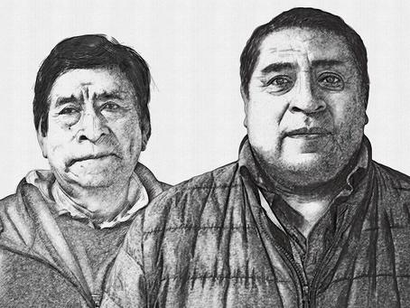 Víctor A. Roldán y Norberto Colex