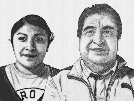 Reyna Charbel y José Martín