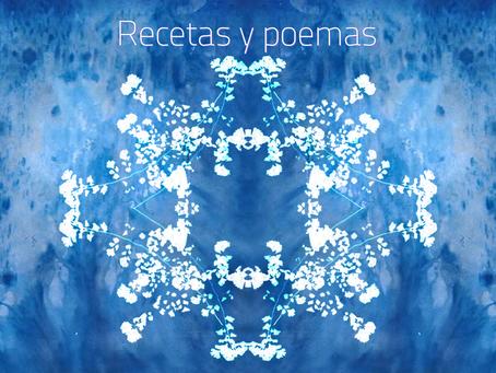 Recetas y poemas