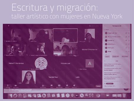 Escritura y migración: taller artístico con mujeres en Nueva York