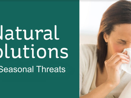 Natural Solutions for Seasonal Threats
