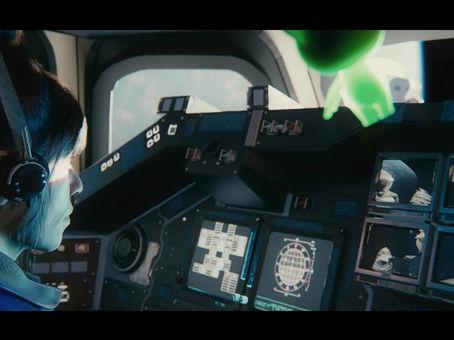 STS-13 - Pre-Viz Motion Tests!