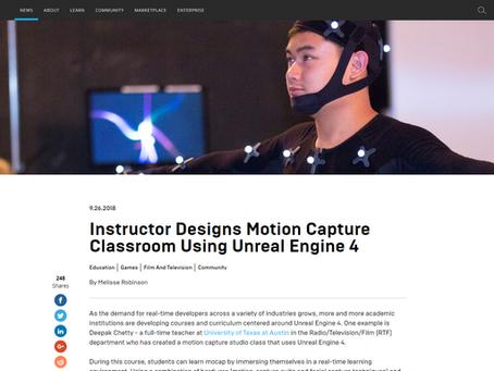 Motion Capture Studio Class