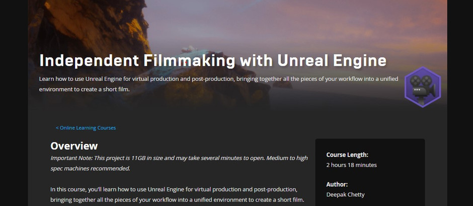 New Course on Unreal Online Learning