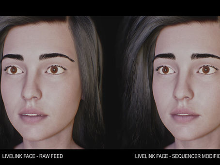 Facial Capture Refinement in Unreal Engine