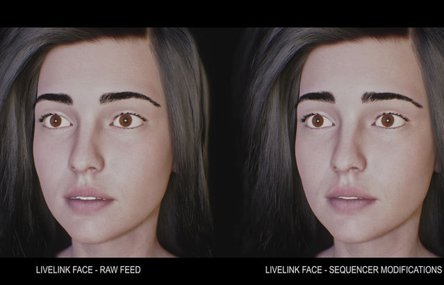 Facial Capture Refinement in Unreal Engine