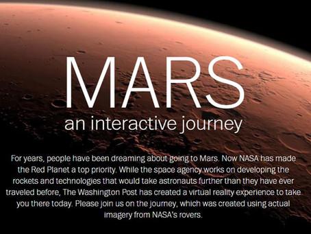 Washington Post Mars VR, Unreal Engine fun and SXSW