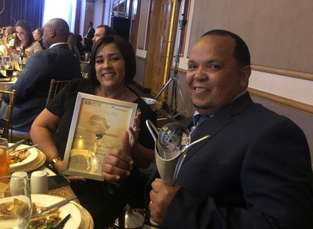 DSES Project Solutions crowned the winners of the SME category at the SAVCA industry awards 2019